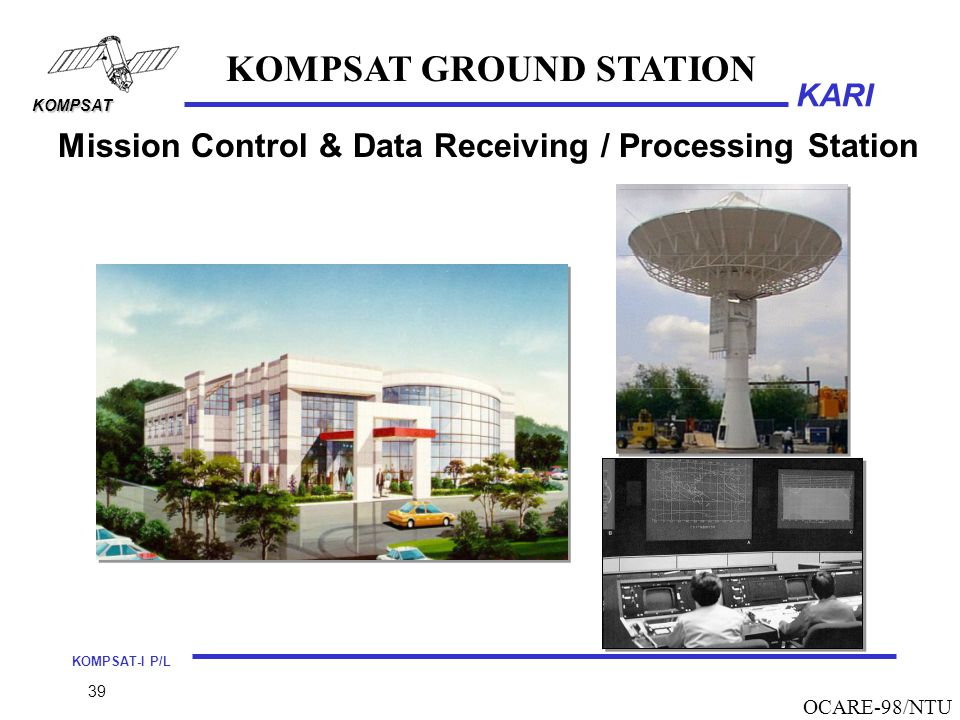 KOMPSAT GROUND STATION