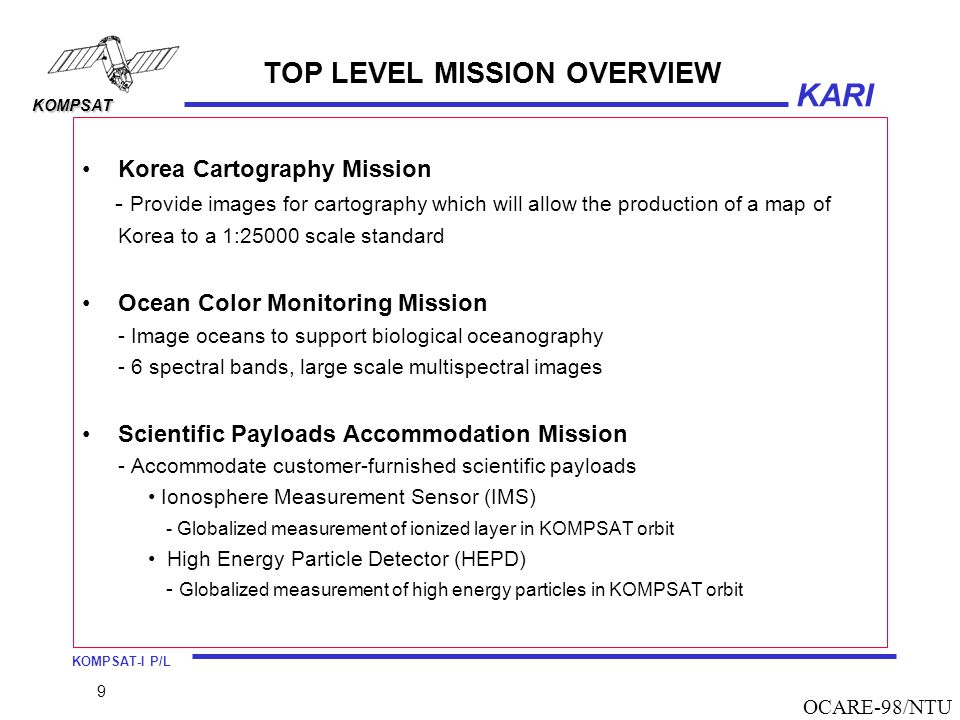 TOP LEVEL MISSION OVERVIEW