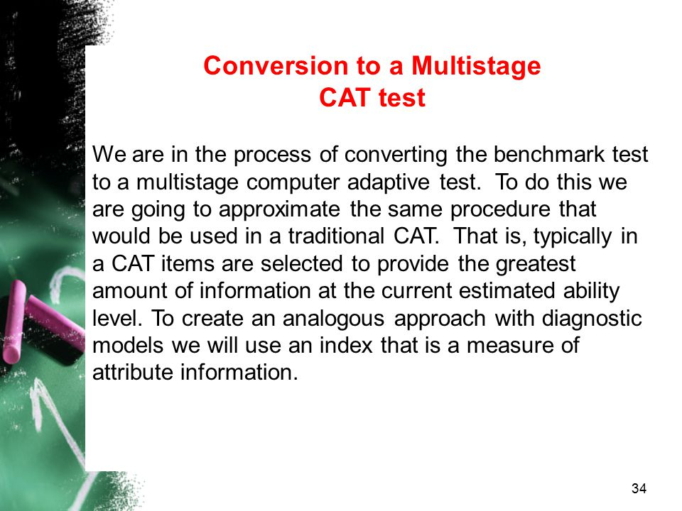 Conversion to a Multistage