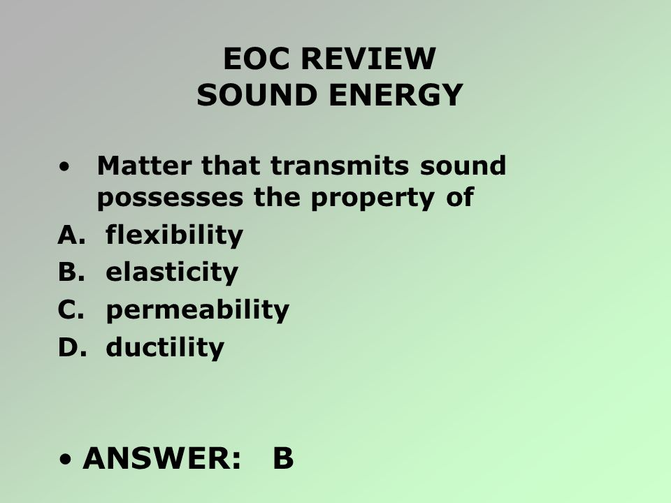 EOC REVIEW SOUND ENERGY
