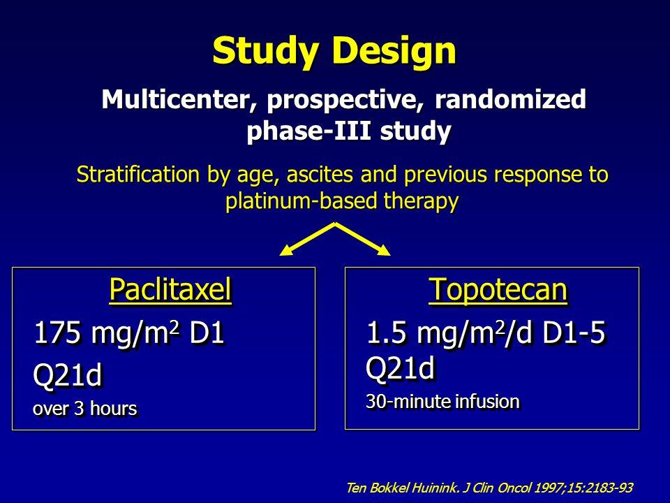 Multicenter, prospective, randomized
