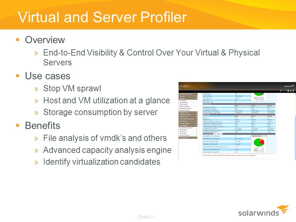 Virtual and Server Profiler