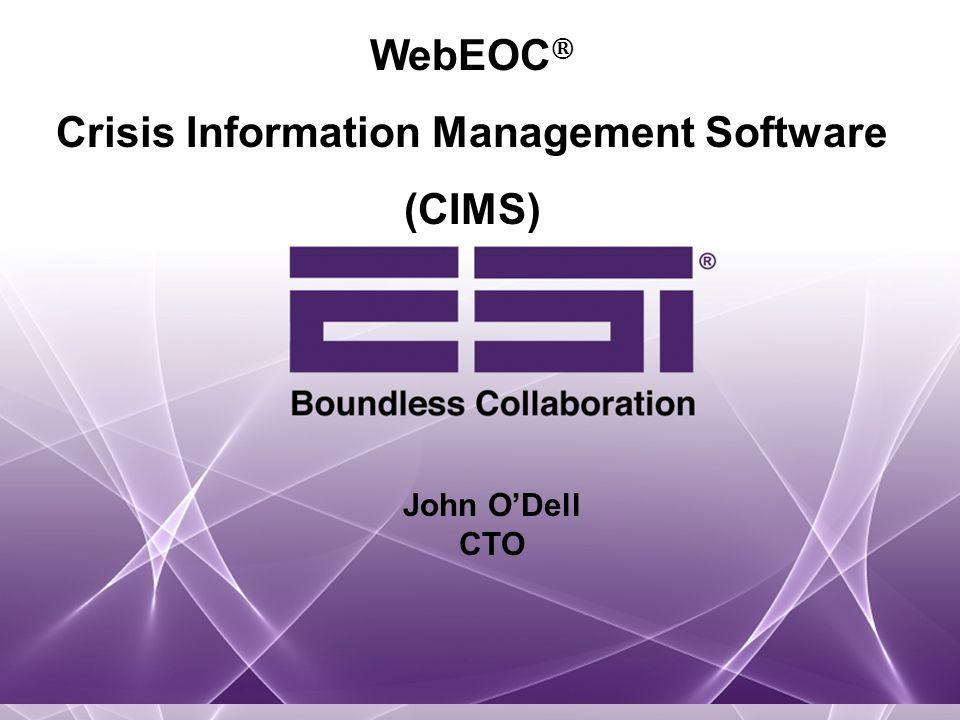 Crisis Information Management Software