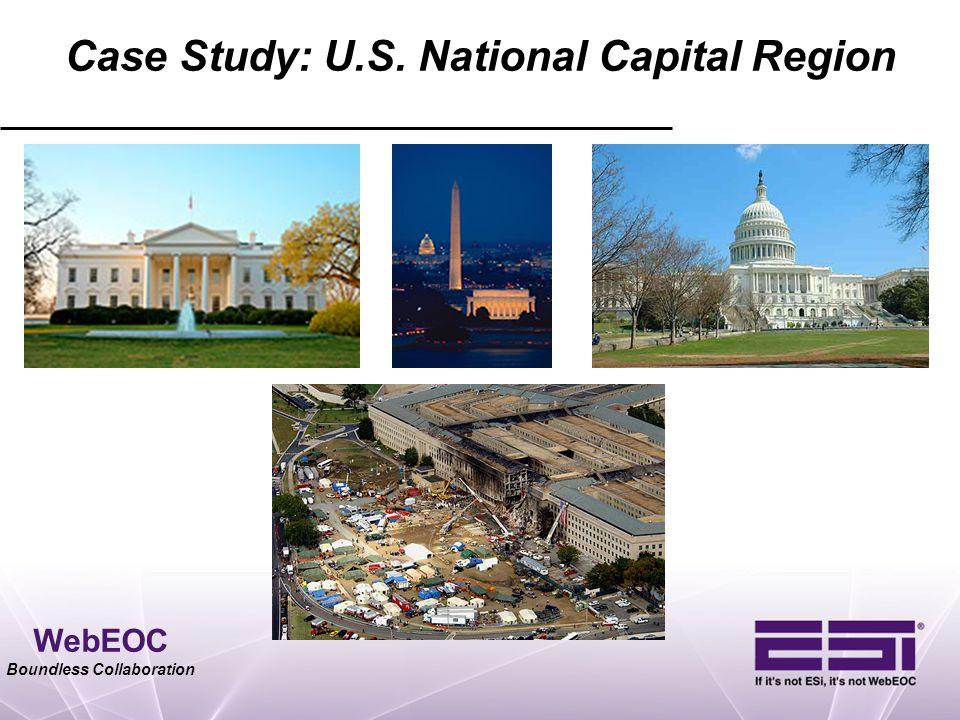 Case Study: U.S. National Capital Region