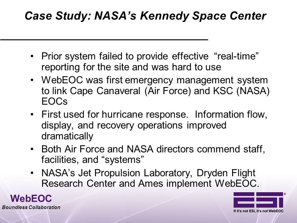 Case Study: NASA's Kennedy Space Center