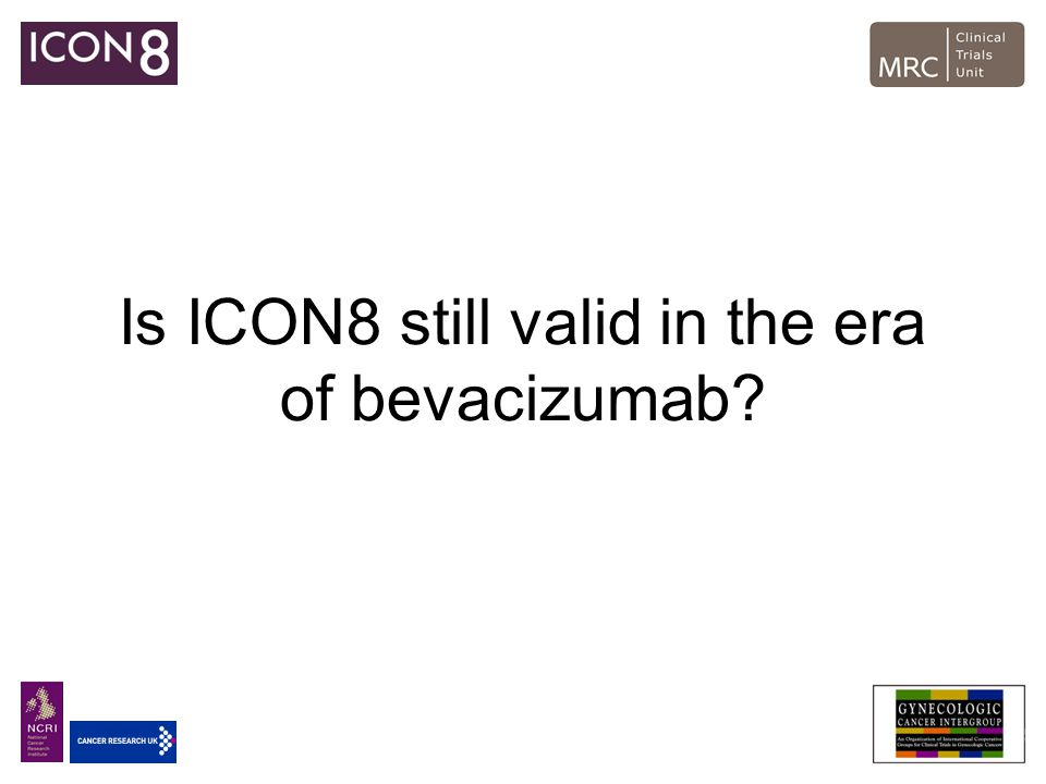 Is ICON8 still valid in the era of bevacizumab