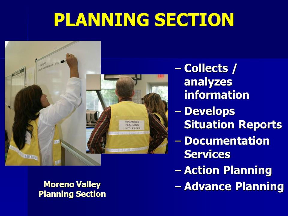 Moreno Valley Planning Section