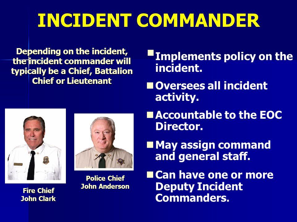 Police Chief John Anderson