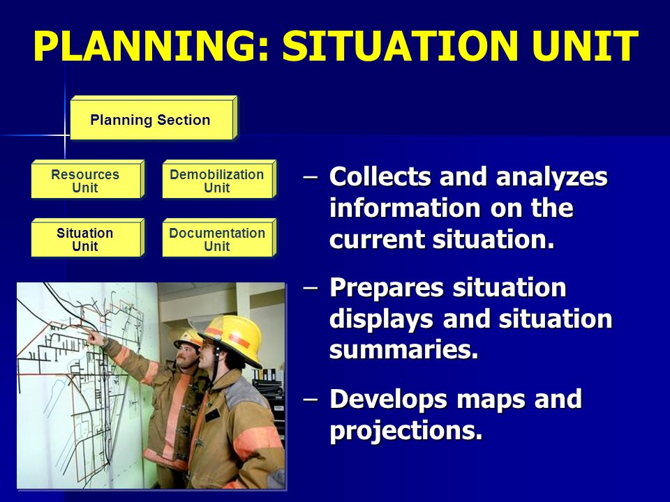 PLANNING: SITUATION UNIT
