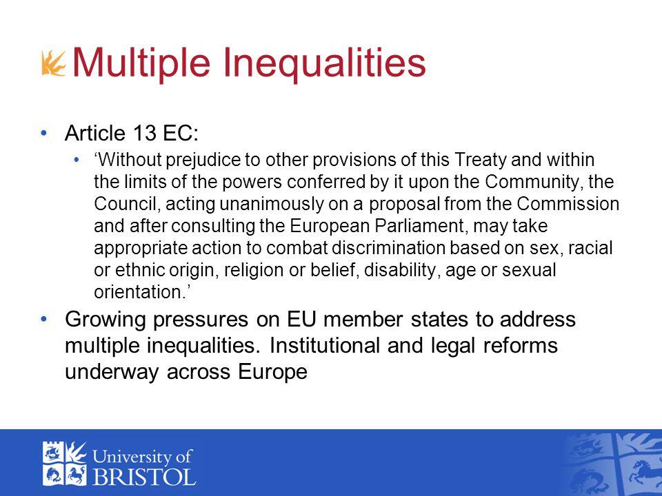 Multiple Inequalities