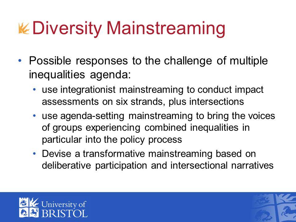 Diversity Mainstreaming
