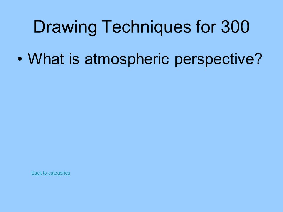 Drawing Techniques for 300