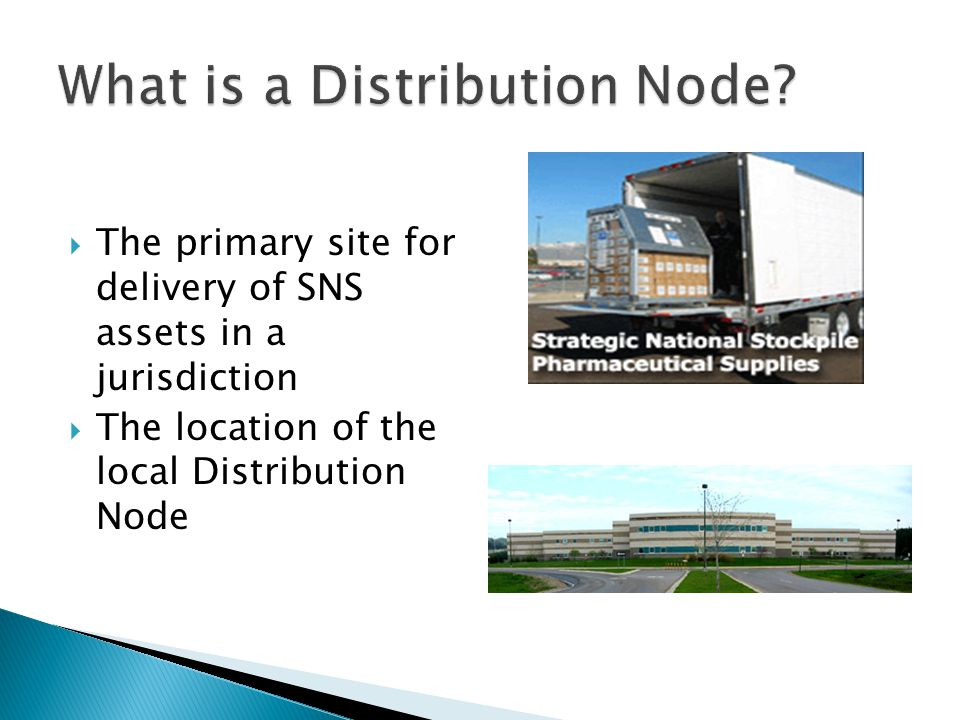 What is a Distribution Node