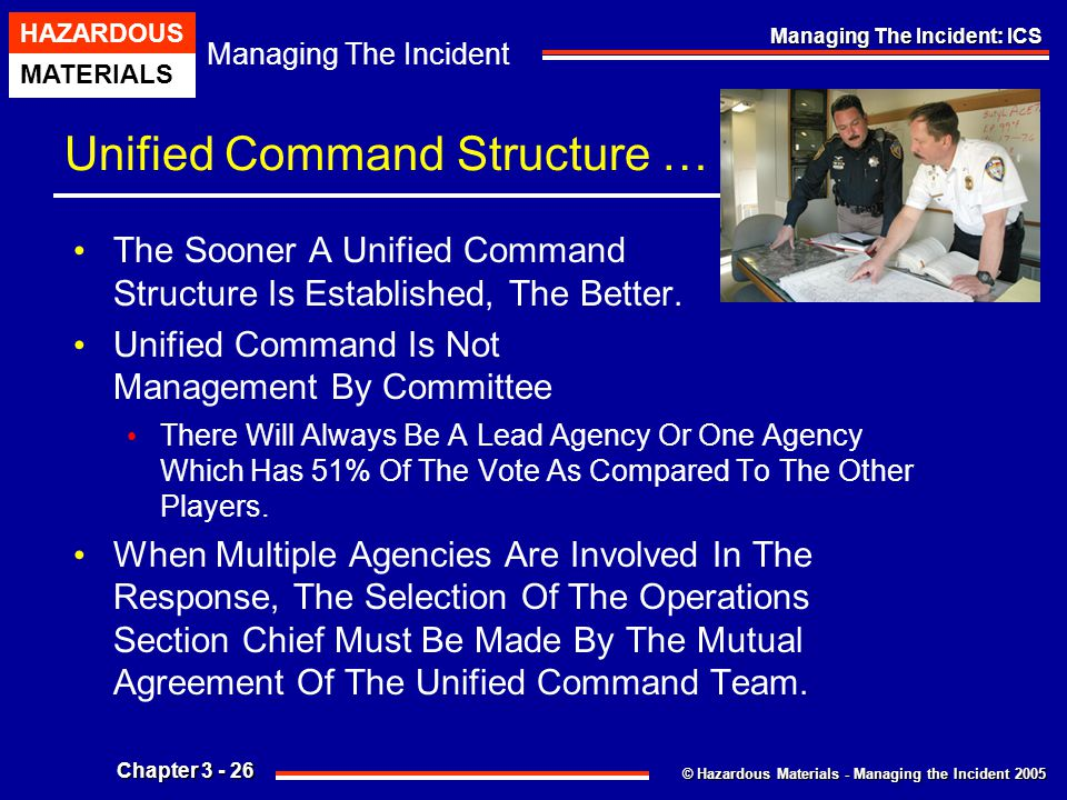 Unified Command Structure …
