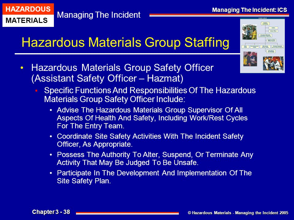 Hazardous Materials Group Staffing
