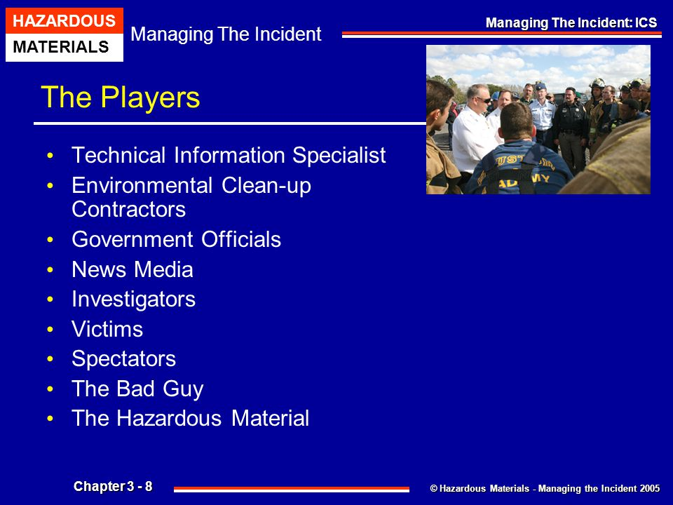 The Players Technical Information Specialist
