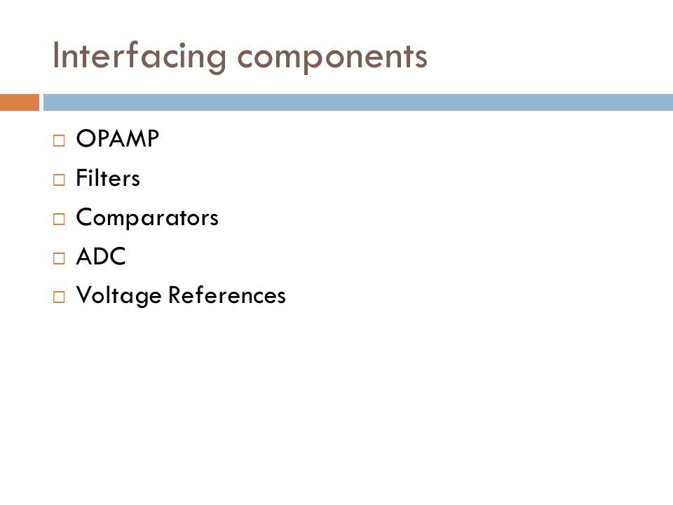 Interfacing components