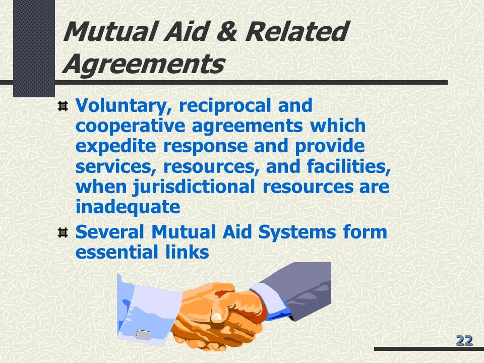 Mutual Aid & Related Agreements