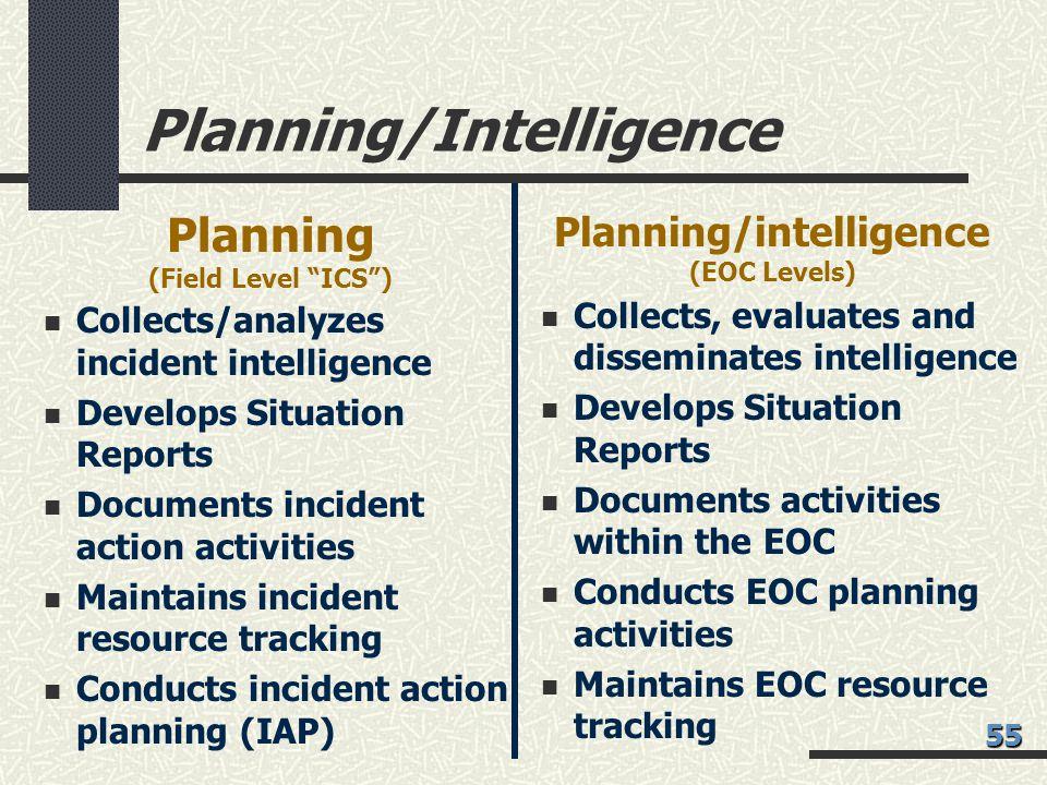 Planning/Intelligence