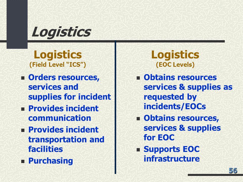 Logistics Logistics Logistics