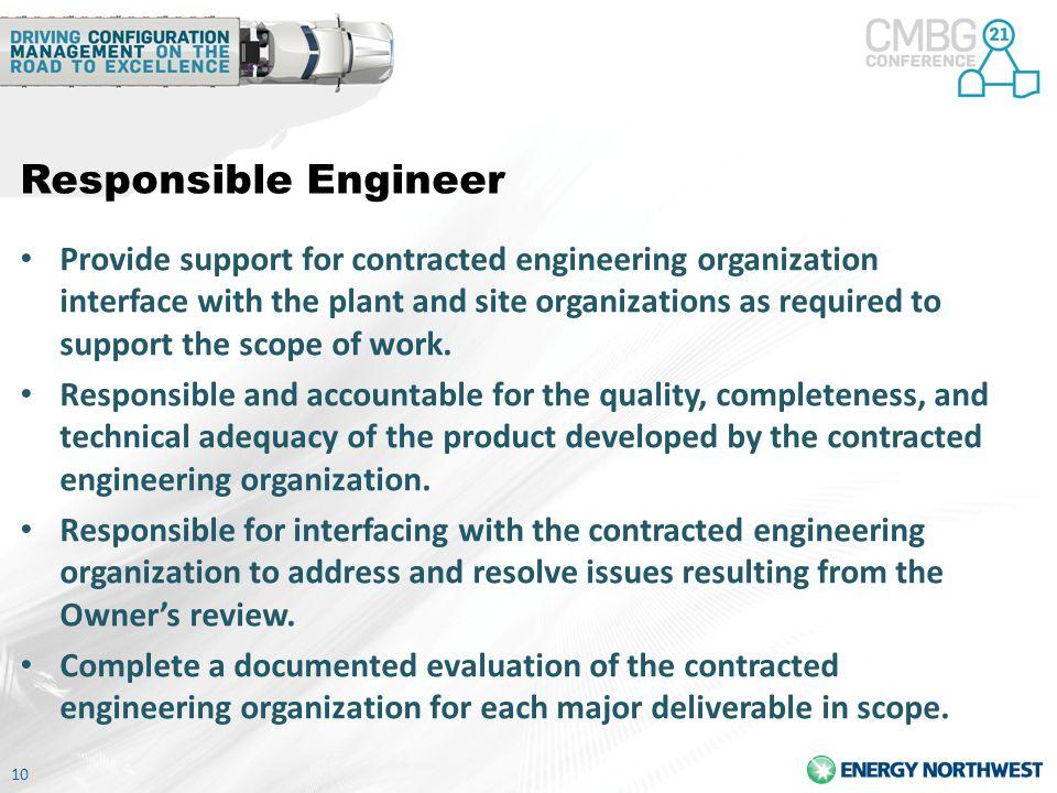 Responsible Engineer