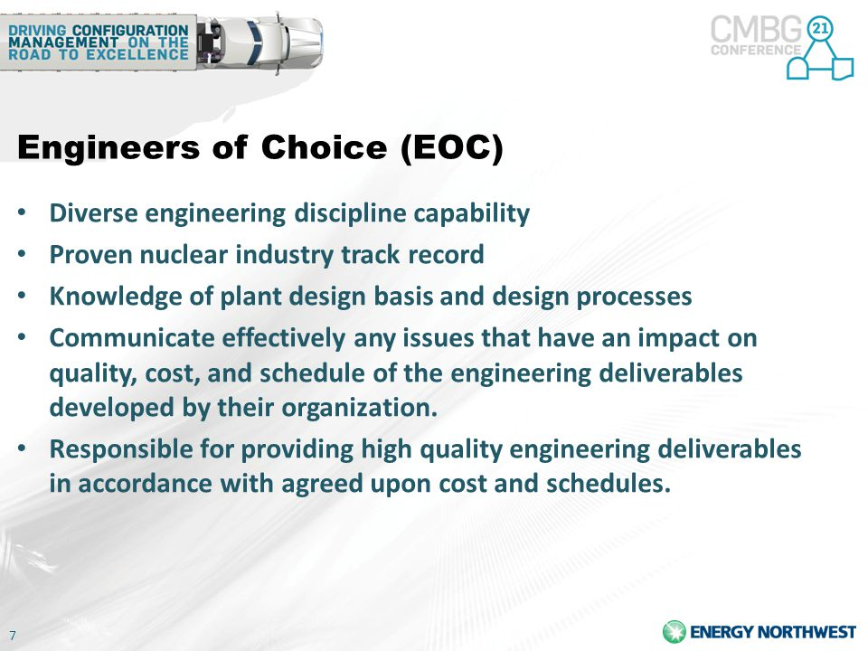 Engineers of Choice (EOC)