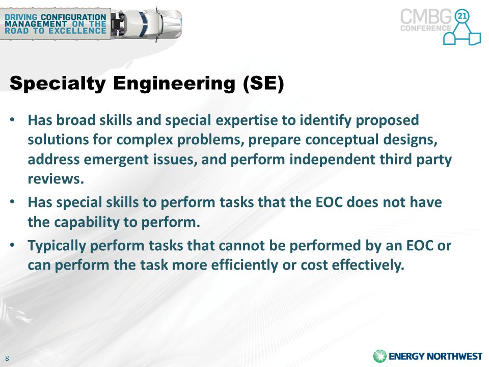 Specialty Engineering (SE)