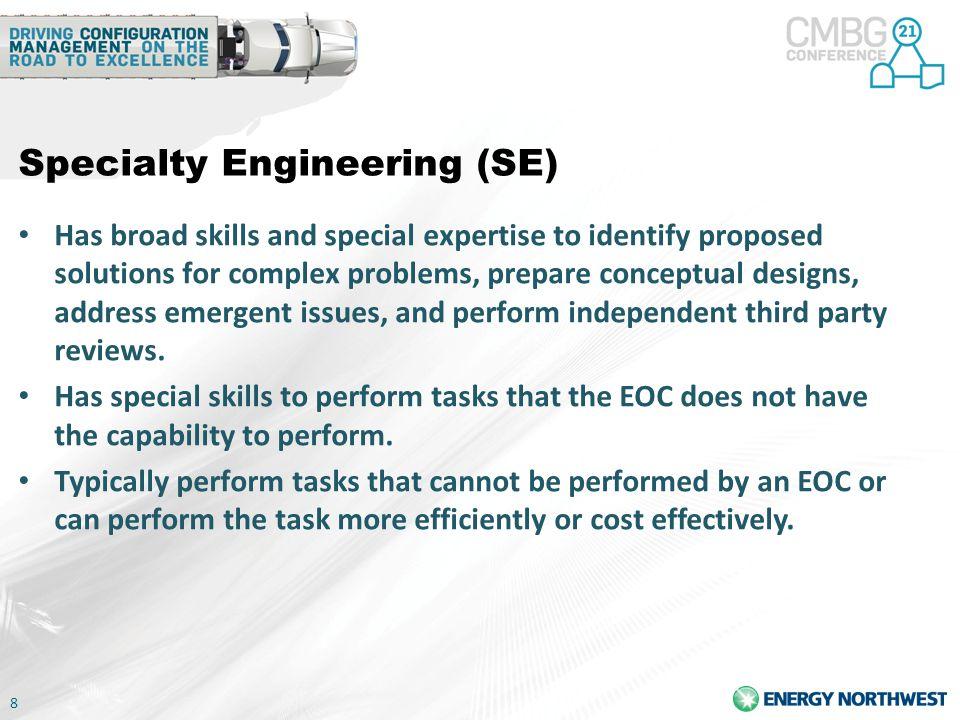 Specialty Engineering (SE)