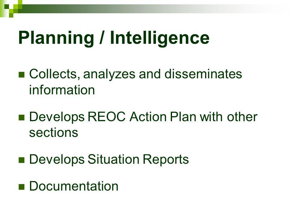 Planning / Intelligence