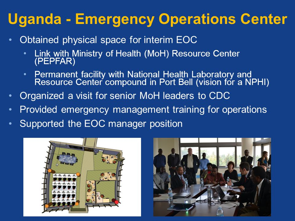 Uganda - Emergency Operations Center