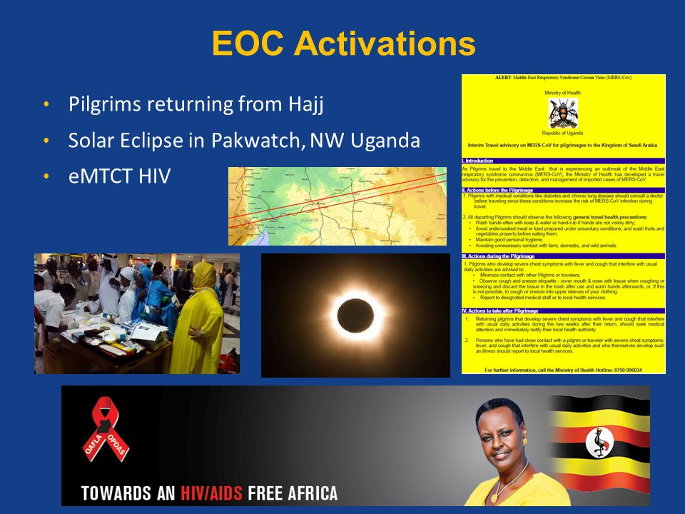 EOC Activations Pilgrims returning from Hajj