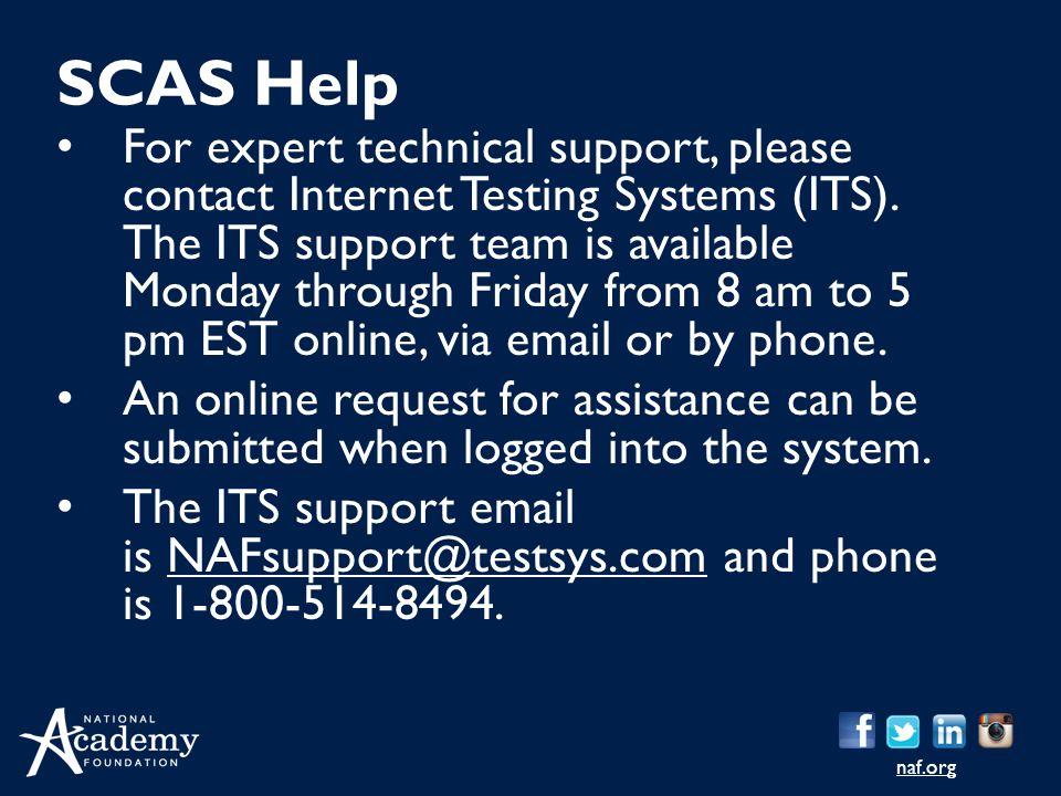SCAS Help