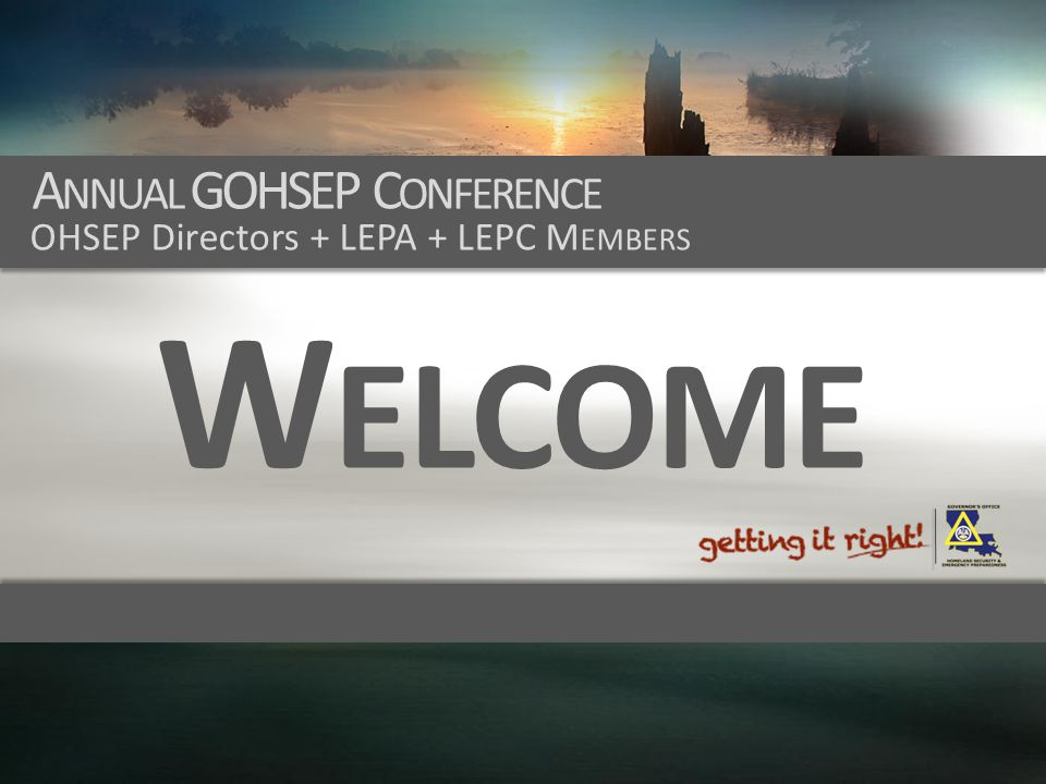 Annual GOHSEP Conference
