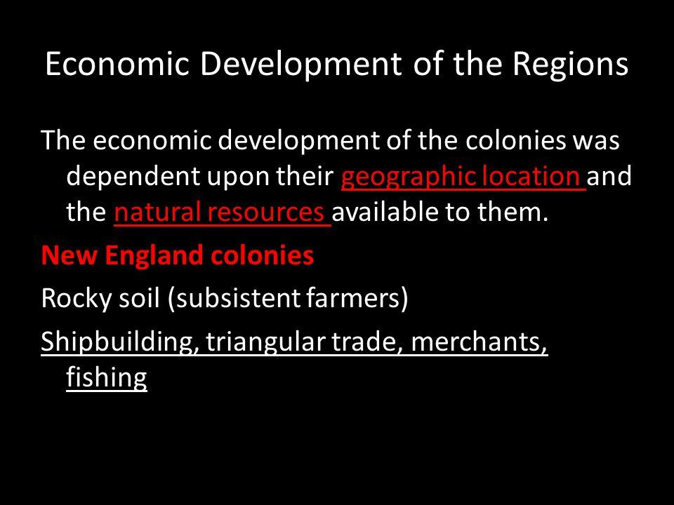 Economic Development of the Regions