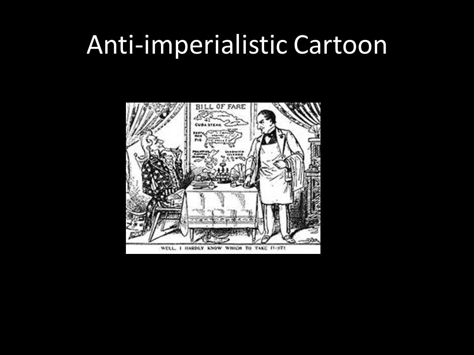 Anti-imperialistic Cartoon
