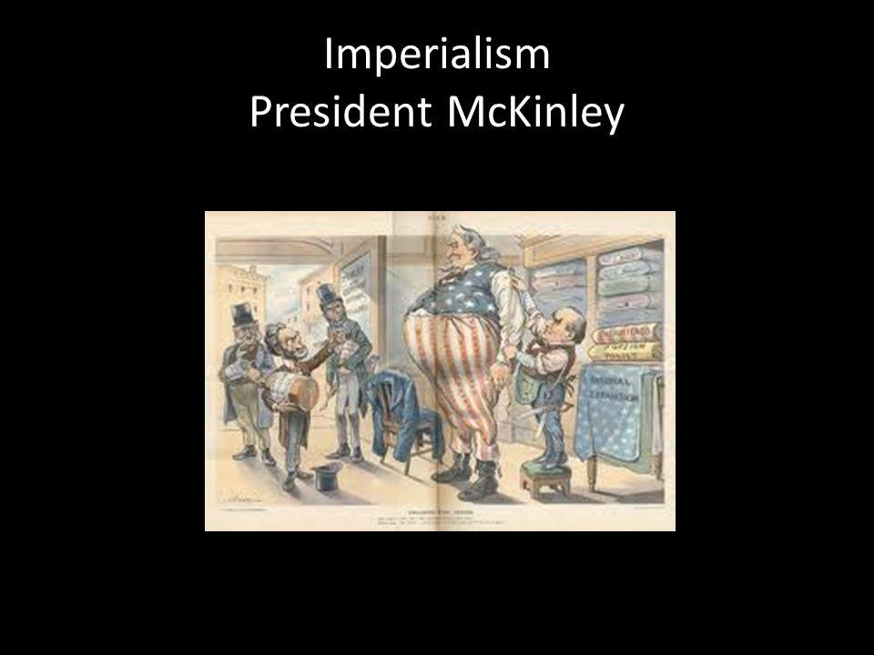 Imperialism President McKinley