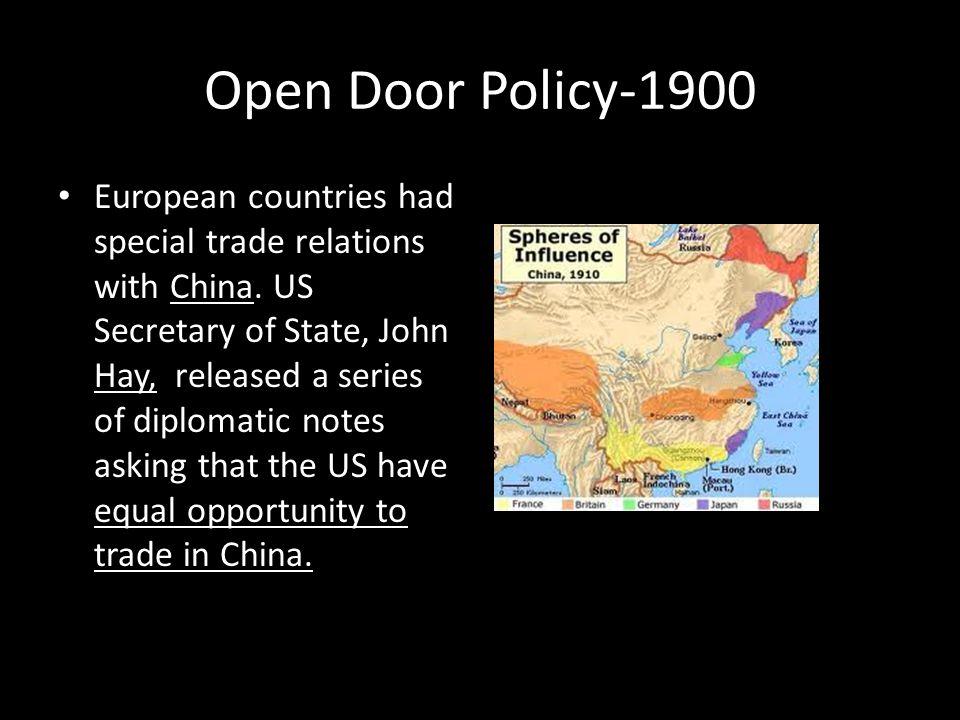 Open Door Policy-1900