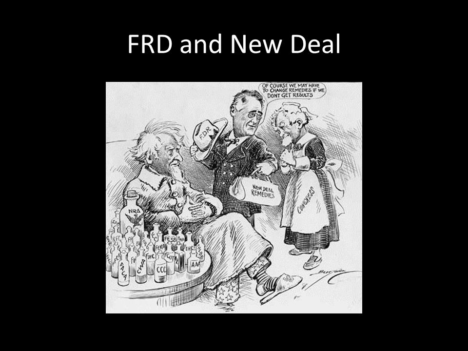 FRD and New Deal