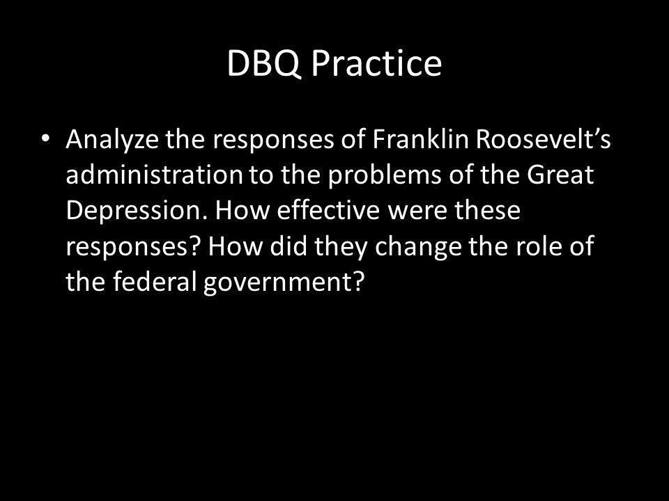 DBQ Practice