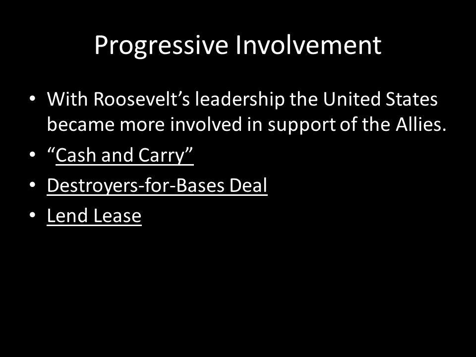 Progressive Involvement