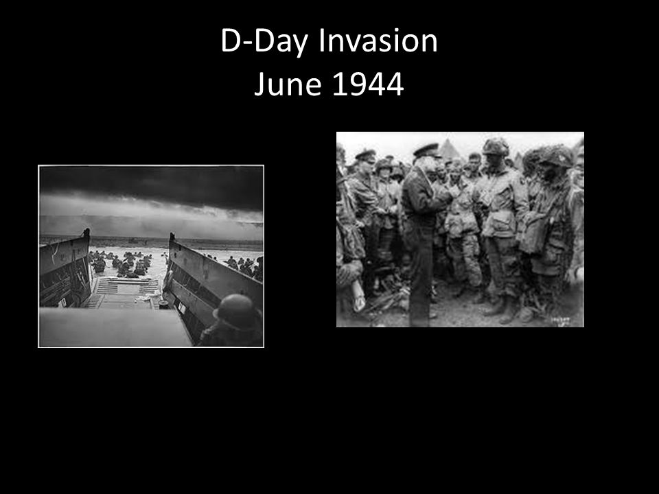 D-Day Invasion June 1944