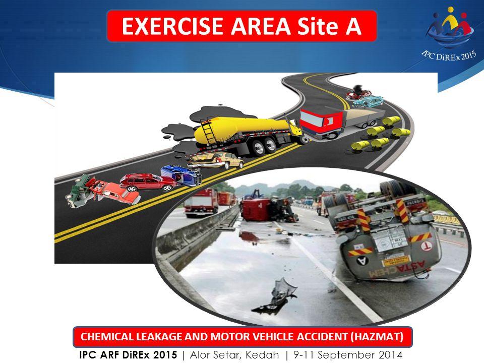 CHEMICAL LEAKAGE AND MOTOR VEHICLE ACCIDENT (HAZMAT)