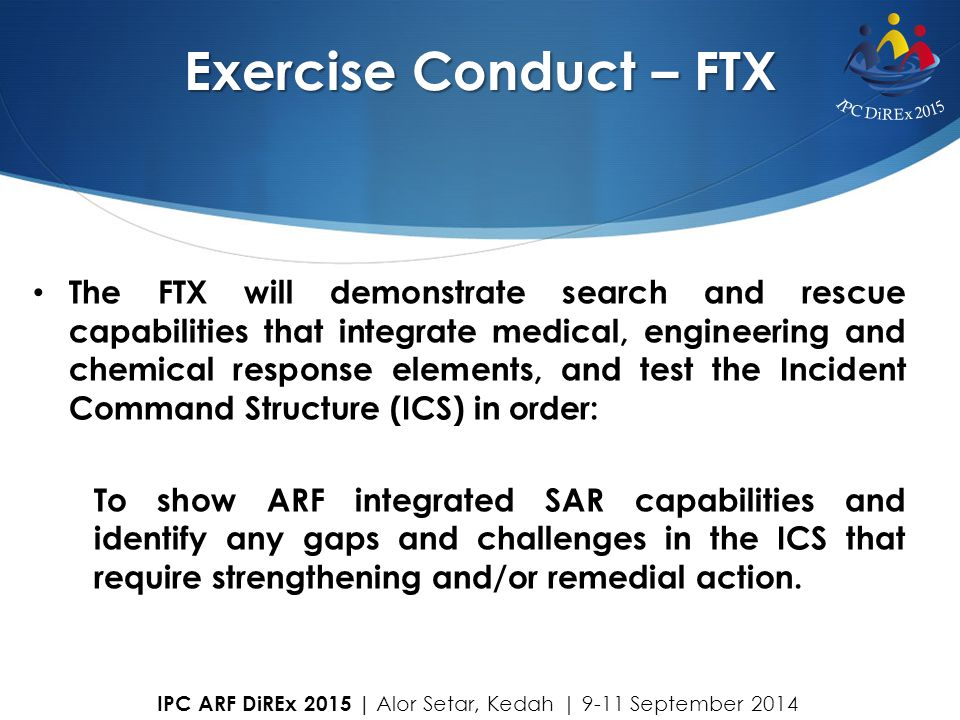 Exercise Conduct – FTX