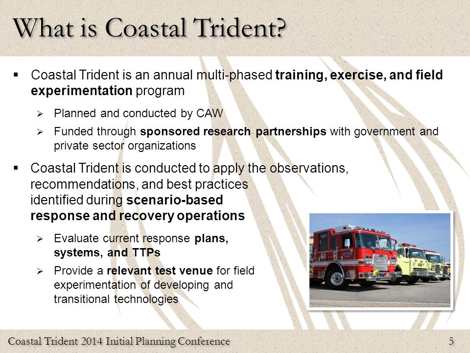 What is Coastal Trident