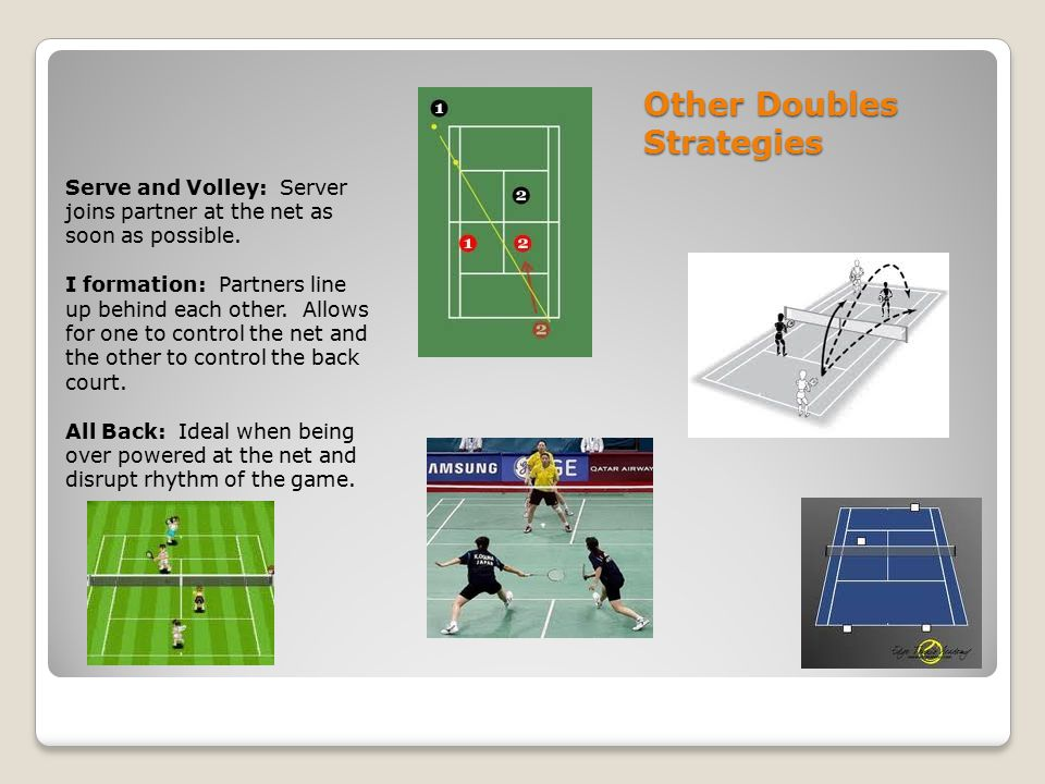 Other Doubles Strategies