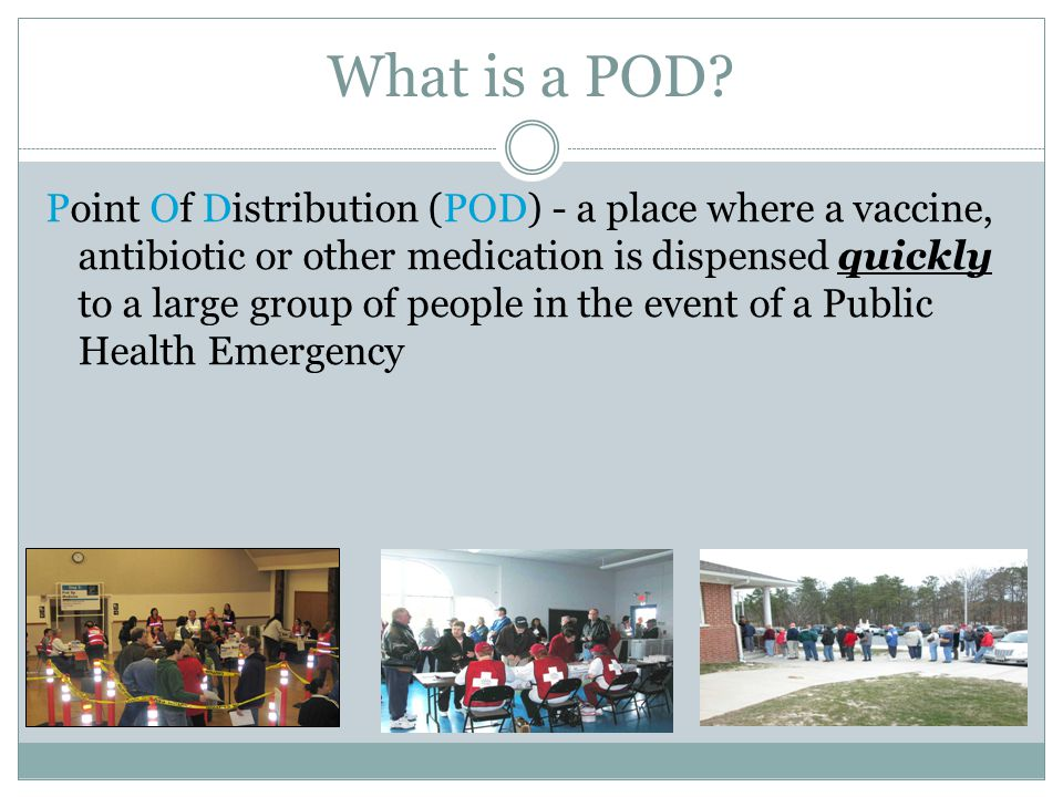 What is a POD