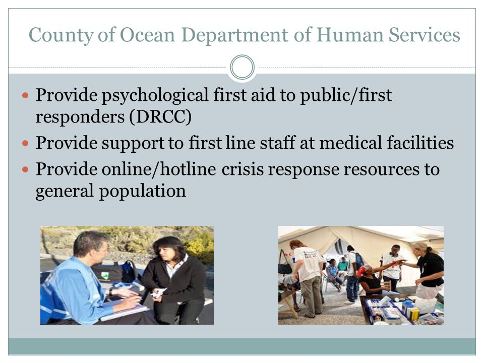 County of Ocean Department of Human Services