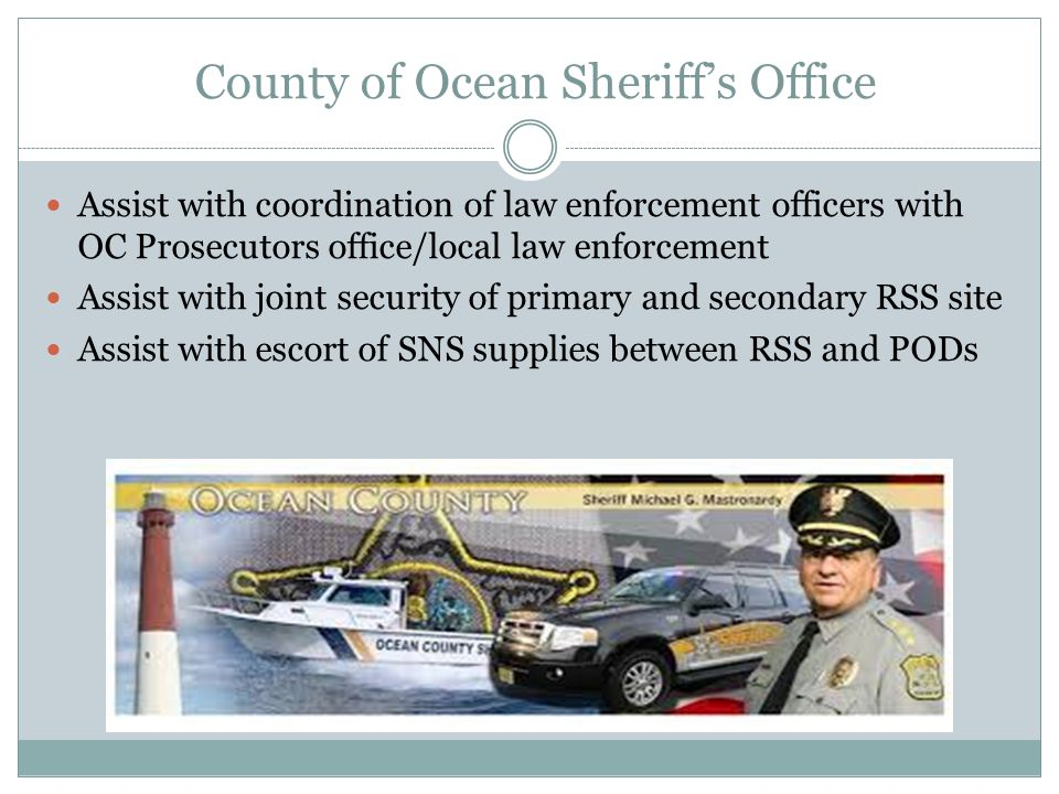 County of Ocean Sheriff's Office