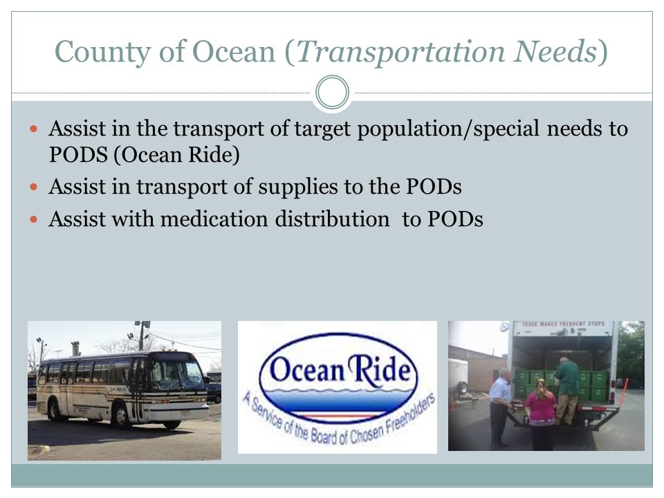 County of Ocean (Transportation Needs)