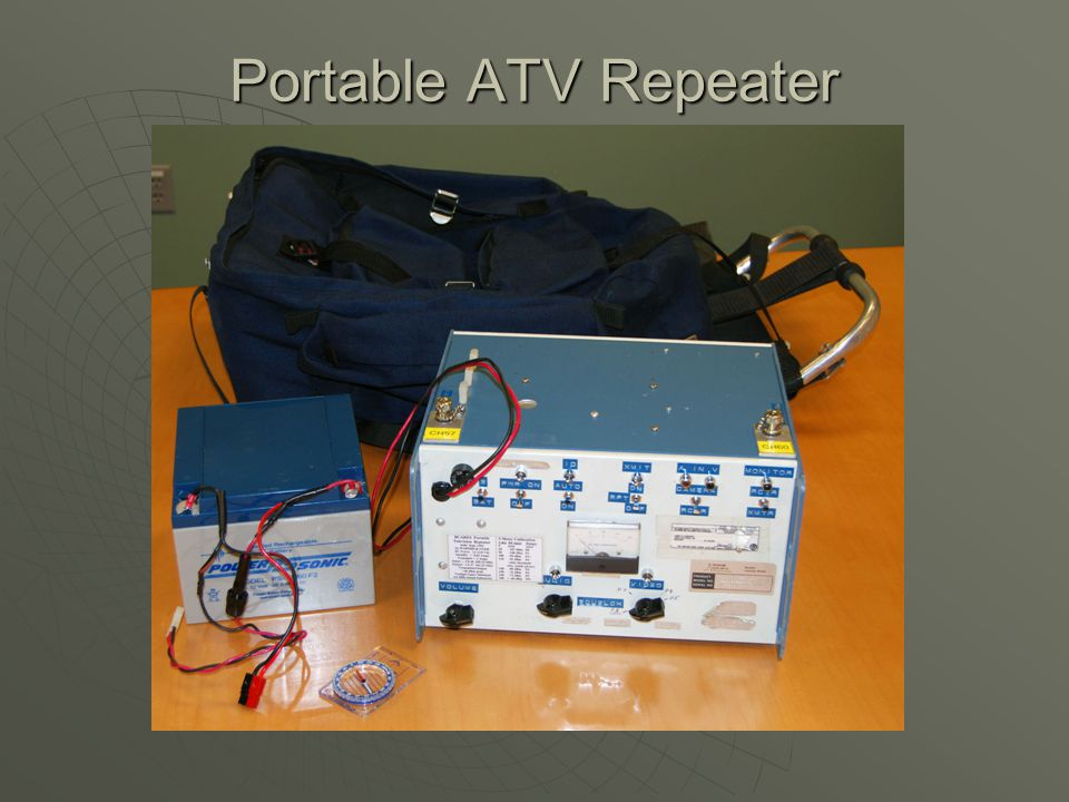 Portable ATV Repeater